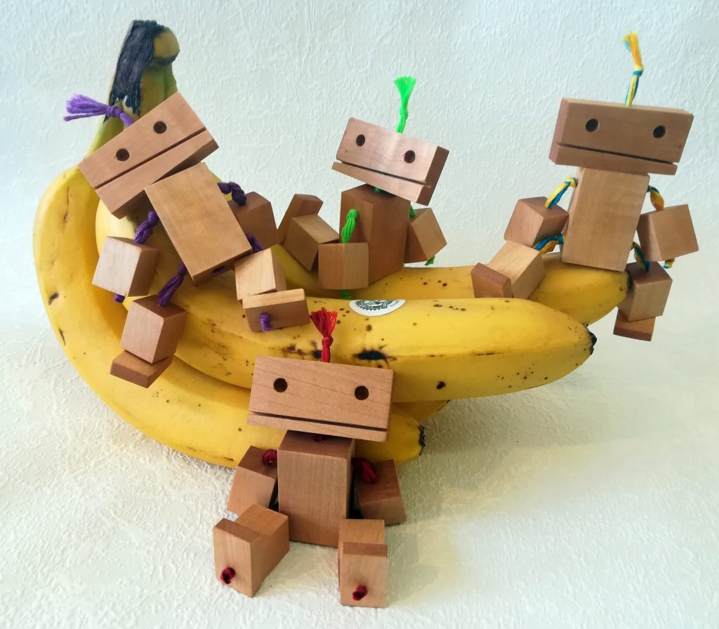 Blockheads on a Banana
