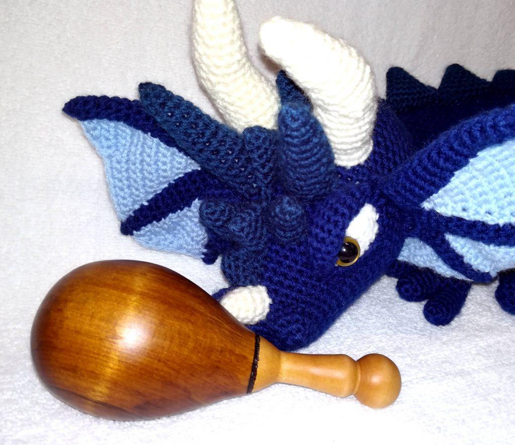Darning Egg - Dragon