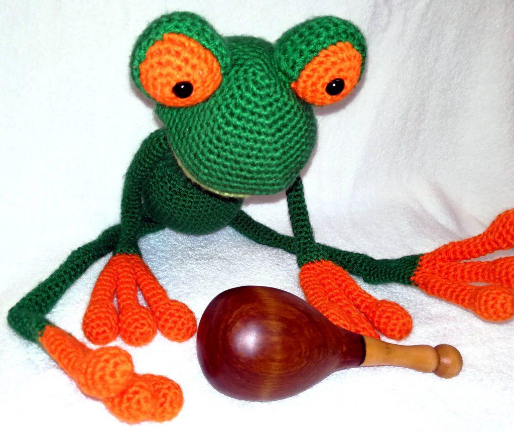 Darning Egg - Frog